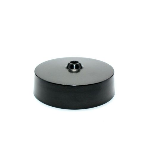 Black Thermoplastic Ceiling Rose 250v 6A BS67